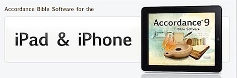 Accordance on iPad